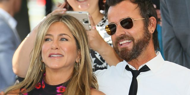 Aniston married Justin Theroux in 2015.