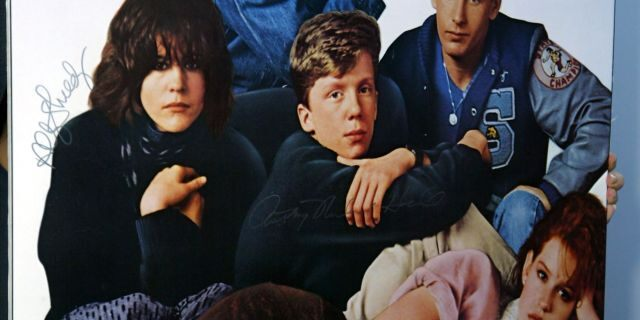 Original poster for 'The Breakfast Club'