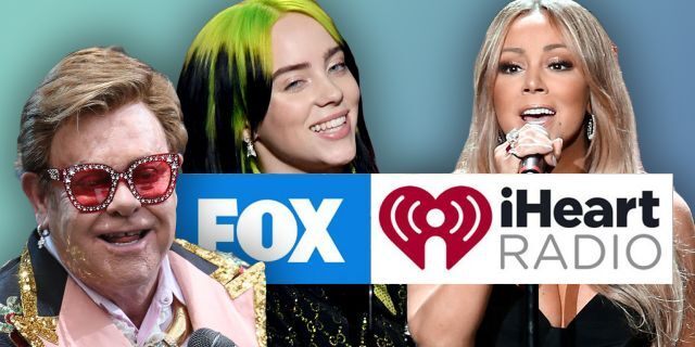 """""""FOX Presents the IHeart Living Room Concert for America"""" will air on Sunday at 9 p.m. ET on all FOX platforms and iHeartMedia radio stations nationwide."""