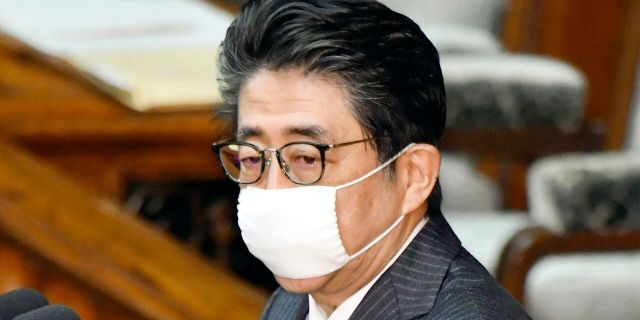 Japanese Prime Minister Shinzo Abe's pledge to deliver just two old-fashioned gauze masks per household as a latest coronavirus measure has backfired and many people even thought it was an April Fool's Joke.