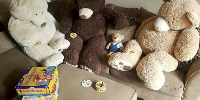 """""""It was just something fun for the kids and they loved it. They have been a permanent fixture in our house ever since, it's not as if they have been retired,"""" she explained."""