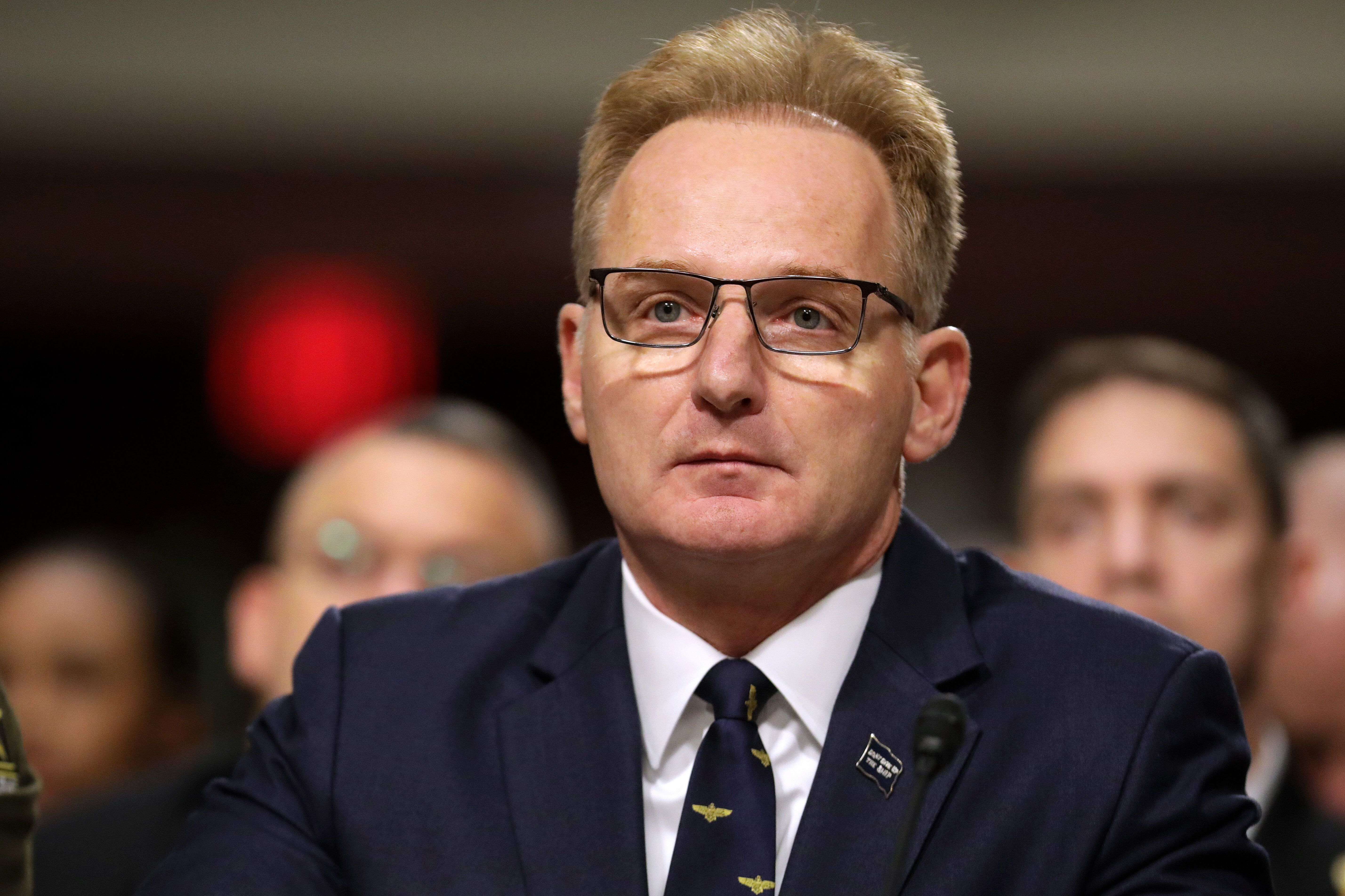 Acting Navy Secretary Thomas Modly (above) suggested that Capt. Brett Crozier leaked his own letter about the coronavirus out