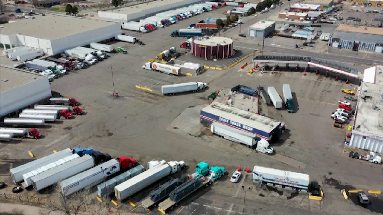 Truck drivers are keeping America moving, amid COVID-19