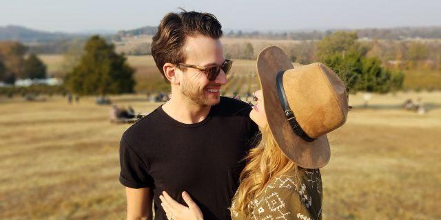 Jordan Pruitt and her husband Brian Fuente