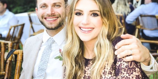 Jordan Pruitt and husband Brian Fuente