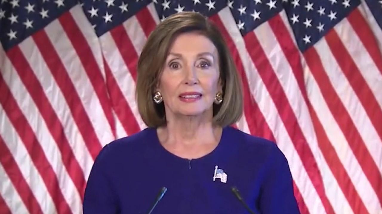 House Speaker Nancy Pelosi looking into feasibility of Congress working remotely amid coronavirus crisis
