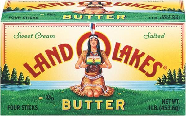 Land O'Lakes will no longer feature a Native American maiden on its dairy products.