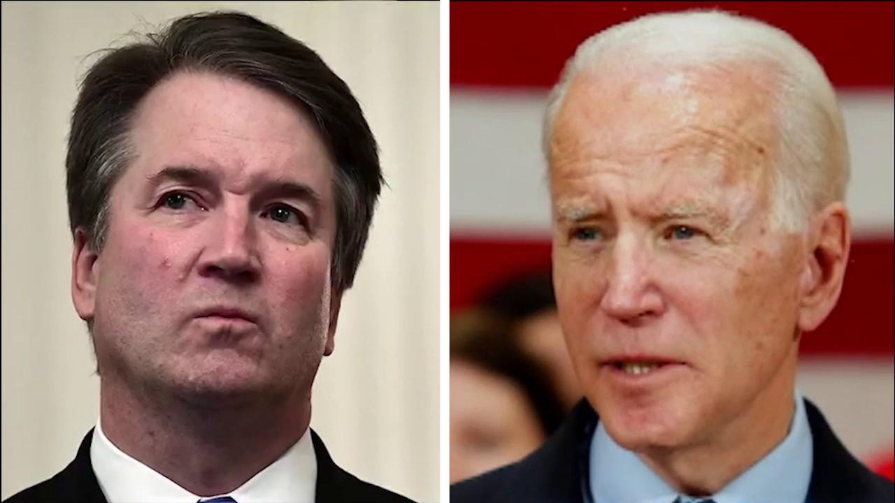 Media coverage of allegations against Joe Biden and Brett Kavanaugh