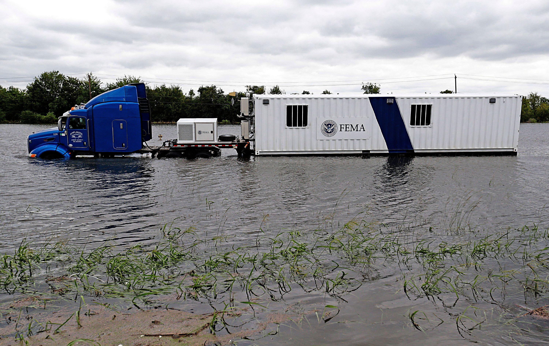 America's disaster-relief funding is split between 300 programs and 17 federal agencies.