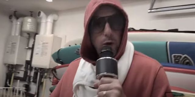 """Adam Sandler appeared on an at-home episode of """"Saturday Night Live"""" to perform a quarantine-themed song with Pete Davidson."""