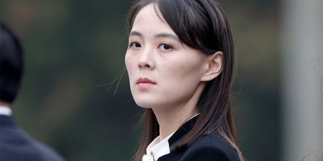 Kim Yo Jong, seen here in 2019, could be Kim Jong Un's eventual successor, analysts have said.
