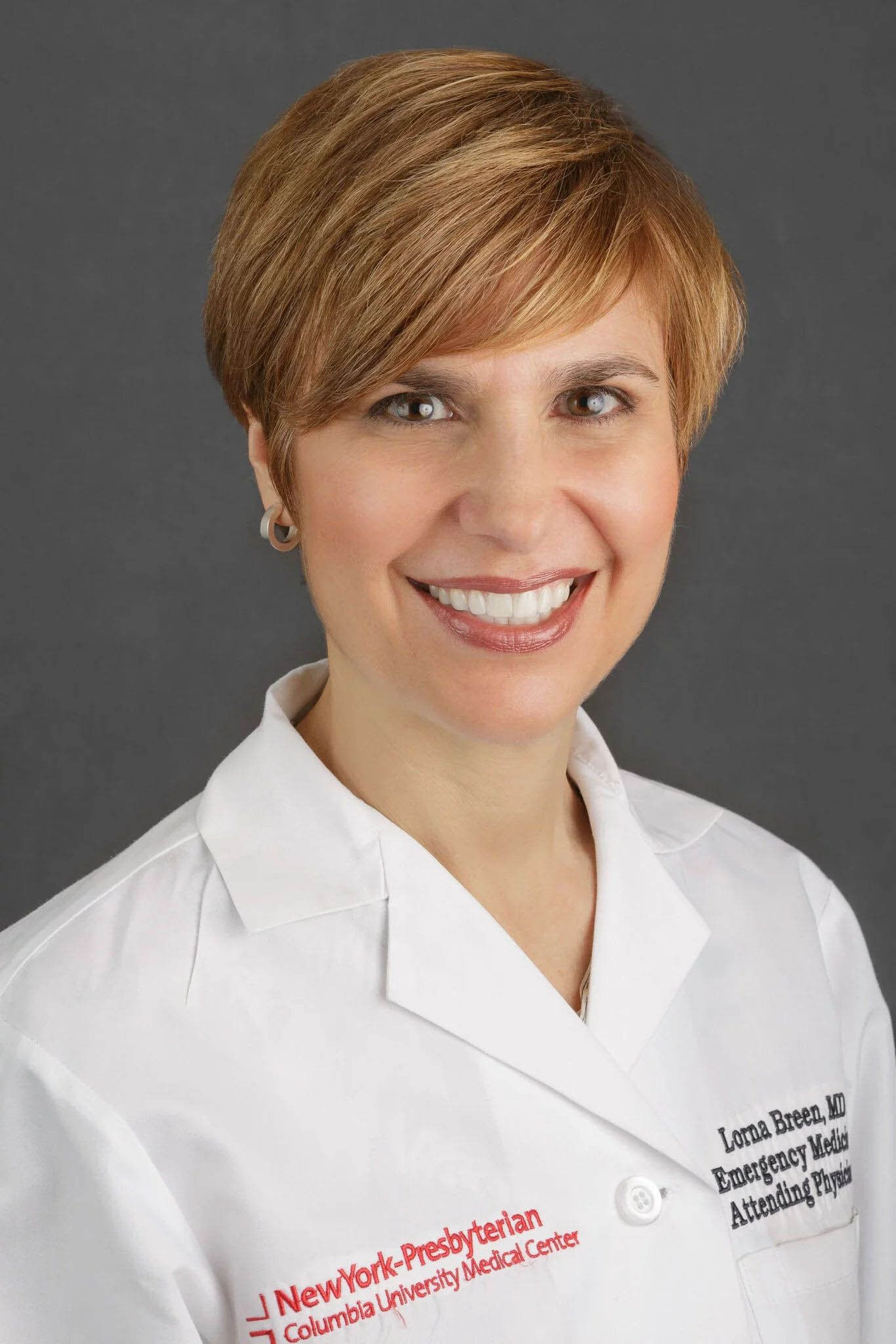 Dr. Lorna M. Breen died on Sunday after working on the frontlines of the coronavirusat New York-Presbyterian Allen Hosp