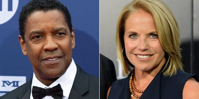 Denzel Washington was interviewed by Katie Couric in 2004 regarding his film 'The Manchurian Candidate.'