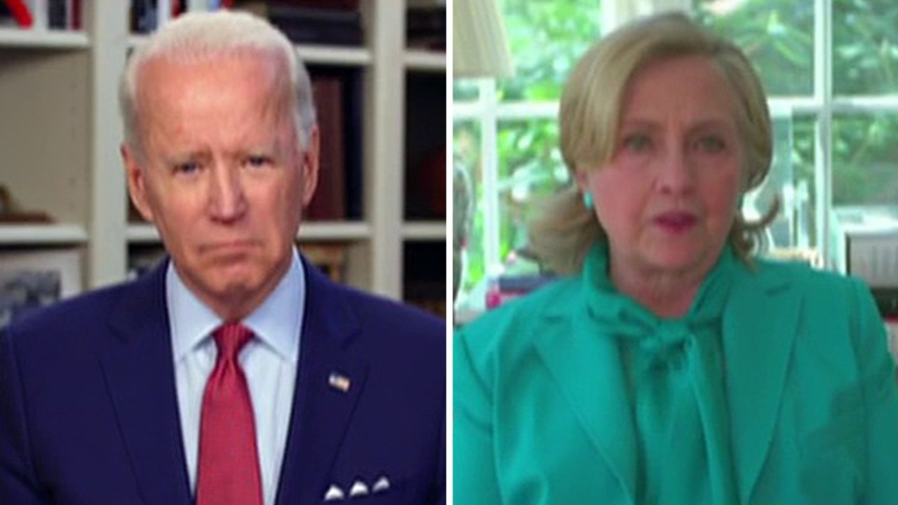 Biden accuser says Hillary Clinton is 'enabling a sexual predator' with her endorsement