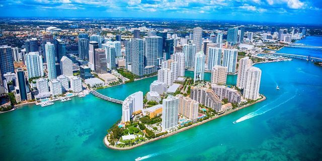 Miami sees enough precipitation to be the fourth wettest city in the country.