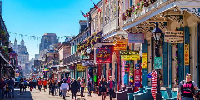 On average, New Orleans sees some 62.45 inches of precipitation each year.