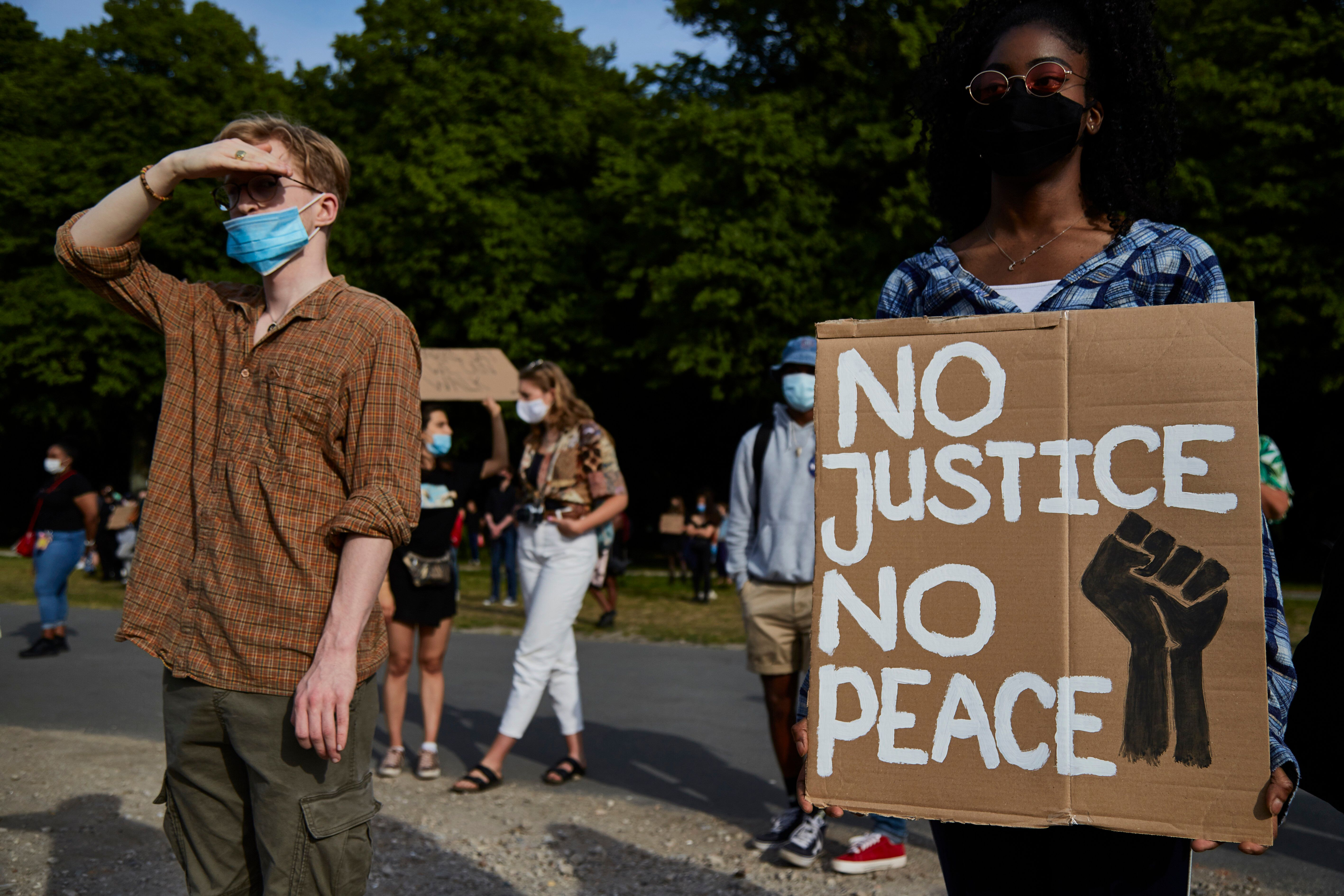 The unrest in the U.S. following the death of George Floyd at the hands of Minneapolis police officers has spurred solidarity