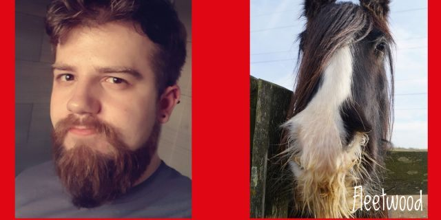 """But we've got quite a lot of ponies with facial hair, so we've enjoyed matching up the men who have sent in pictures of their beards."""