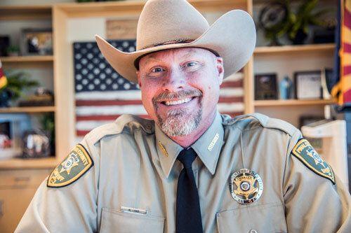 Pinal County Sheriff Mark Lambannounced his positive diagnosis for the coronavirus on Facebook.