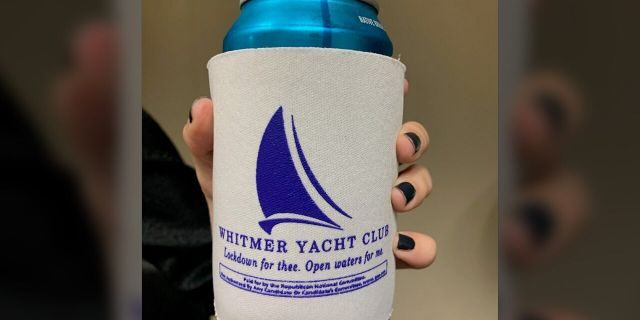 Whitmer Yacht Club koozie
