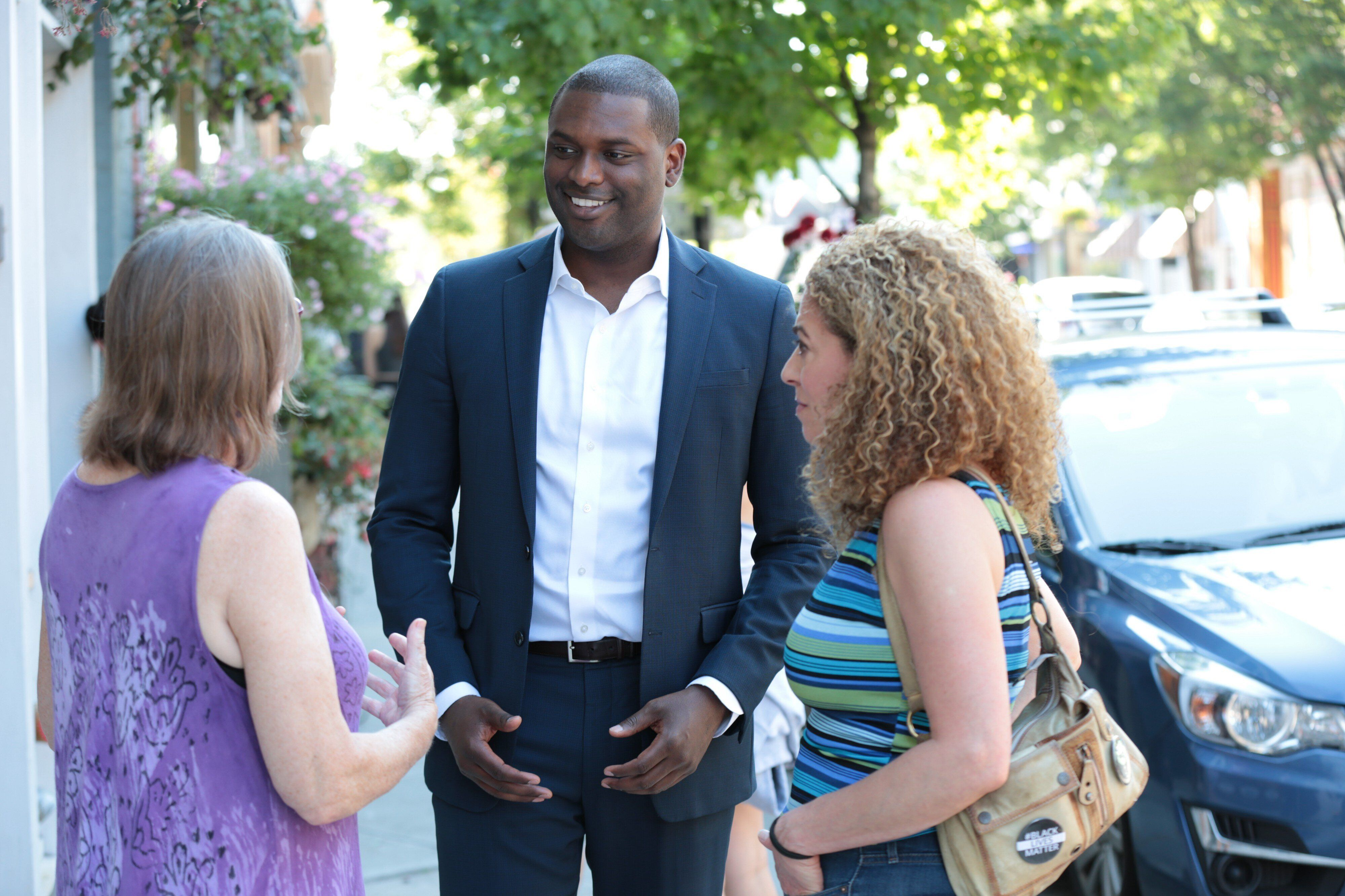 If elected, attorney Mondaire Jones would be the first openly gay Black man in Congress. A crowded field could redound to his