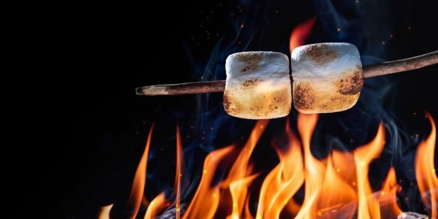 There's more than one way to roast a marshmallow.