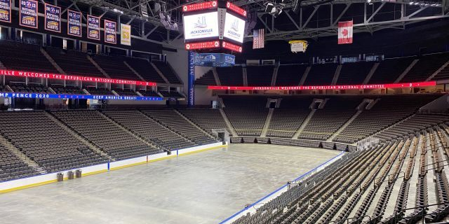 VyStar Veteran's Memorial Arena in Jacksonville, Fla. will host thousands at this year's Republican National Convention (Robert Sherman, Fox News).