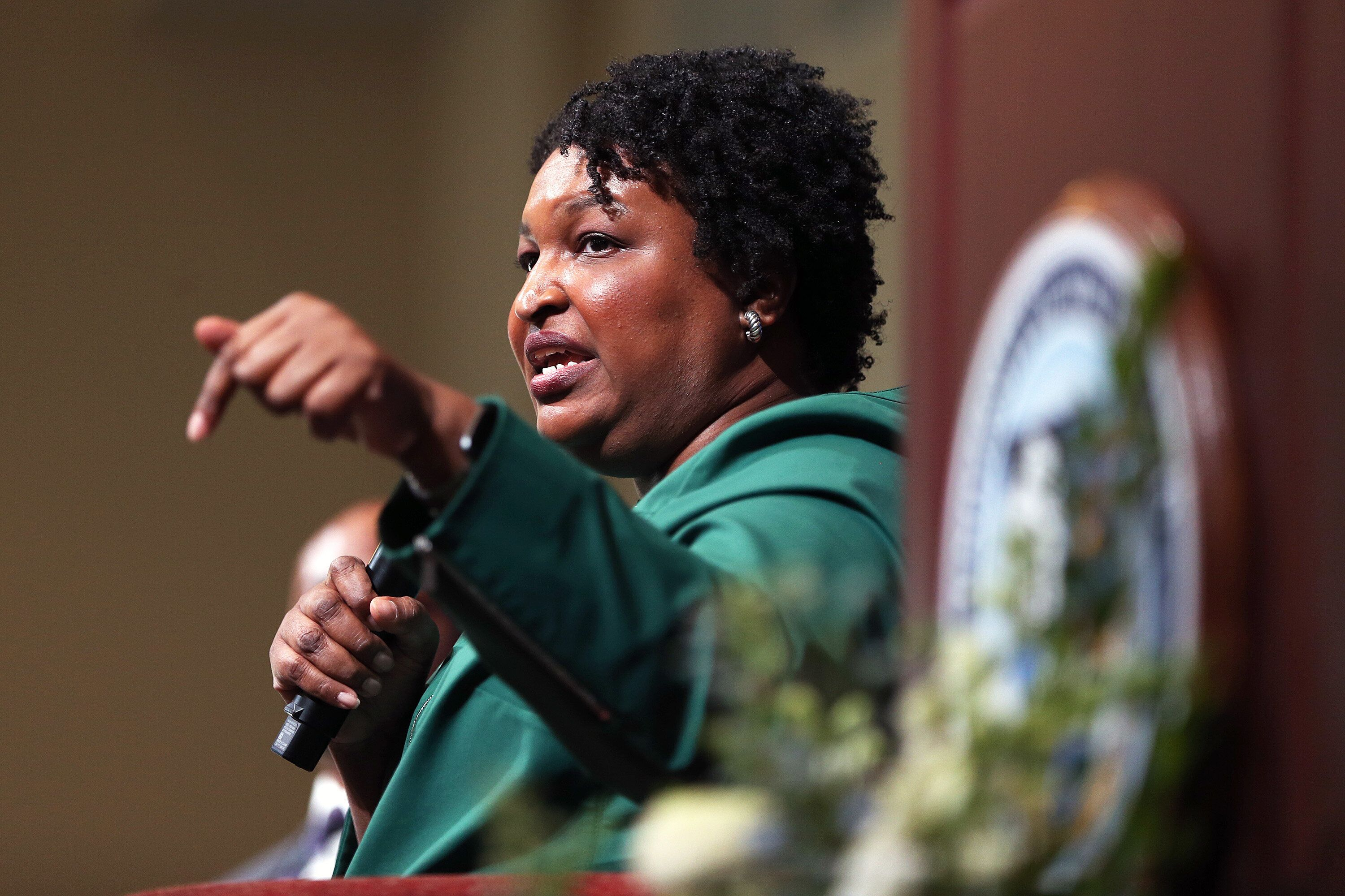 The climate report marks the debut research from Democrat Stacey Abrams' new group, the Southern Economic Advancement Project