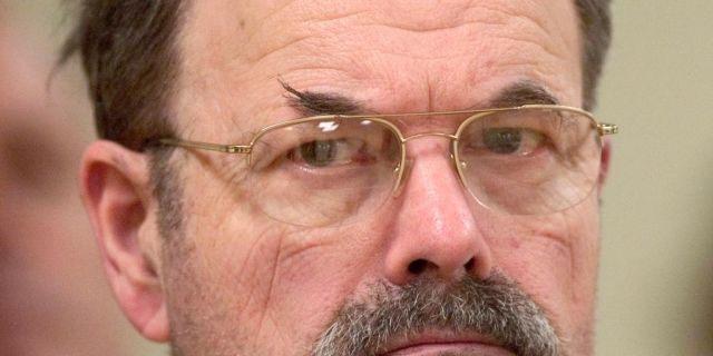FILE - Convicted BTK killer Dennis Rader (Travis Heying/The Wichita Eagle via AP, Pool)