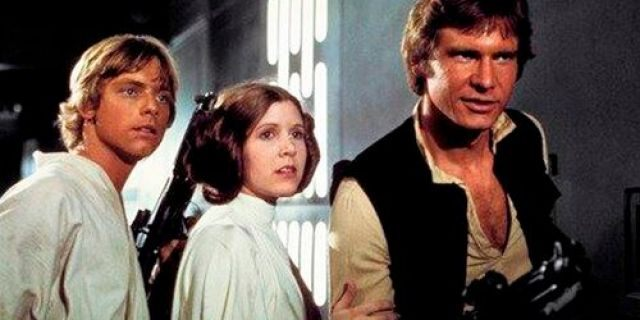 Mark Hamill discussed a cut scene from the original 'Star Wars' trilogy.