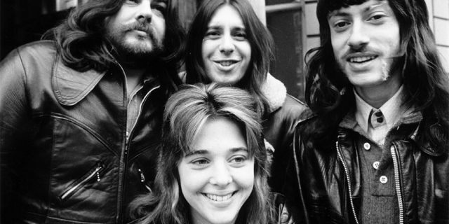 Suzi Quatro and her band in the U.K.