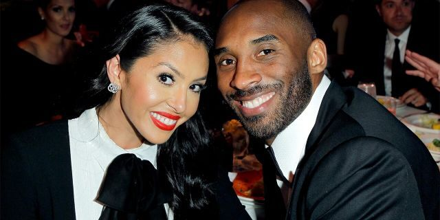 NBA player Kobe Bryant and Vanessa Bryant attend EIF Women's Cancer Research Fund's 16th Annual - An Unforgettable Evening presented by Saks Fifth Avenue  (Photo by Donato Sardella/Getty Images for EIF)