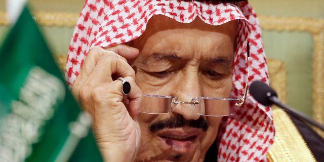 Saudi King Salman chairs the 40th Gulf Cooperation Council Summit in Riyadh, Saudi Arabia on Dec. 10, 2019. (AP Photo/Amr Nabil, File)