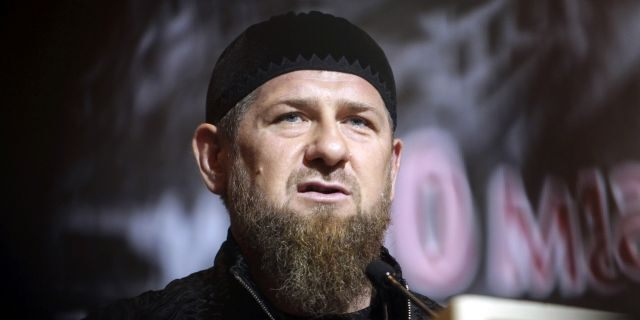 Chechnya's regional leader Ramzan Kadyrov speaks during a meeting in Grozny, Russia, in 2019. (AP)
