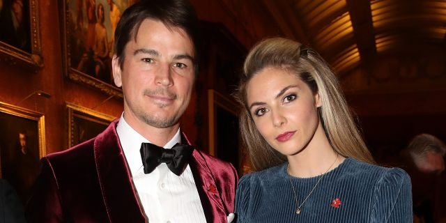 Josh Hartnett and wife Tamsin Egerton attend a dinner to celebrate The Prince's Trust, hosted by Prince Charles, Prince of Wales at Buckingham Palace on March 12, 2019 in London, England. (Photo by Chris Jackson - WPA Pool/Getty Images)