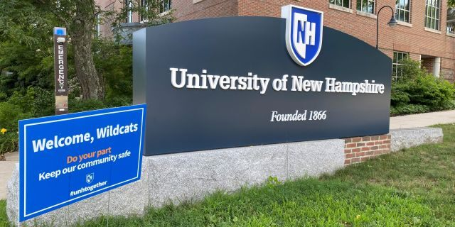The University of New Hampshire -- in Durham, N.H. on July 20, 2020 --is preparing for students to return to campus for the fall semester.