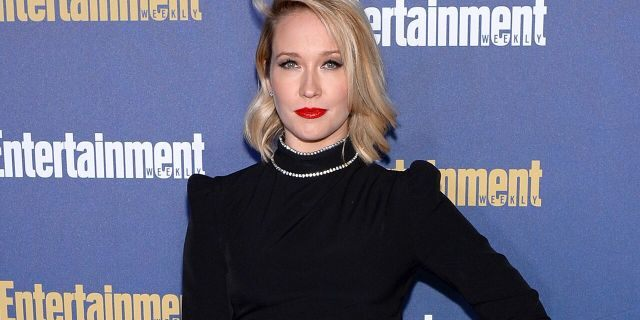 Actress and singer Anna Camp said she contracted coronavirus after not wearing a mask 'one time.' (Photo by Andrew Toth/Getty Images for Entertainment Weekly)