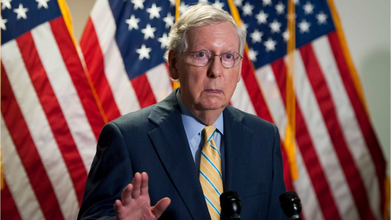 Mitch McConnell wants another round of stimulus checks for Americans