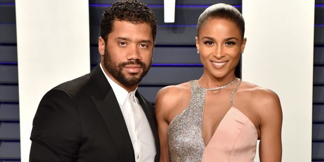 Russell Wilson and Ciara (Photo by Axelle/Bauer-Griffin/FilmMagic)