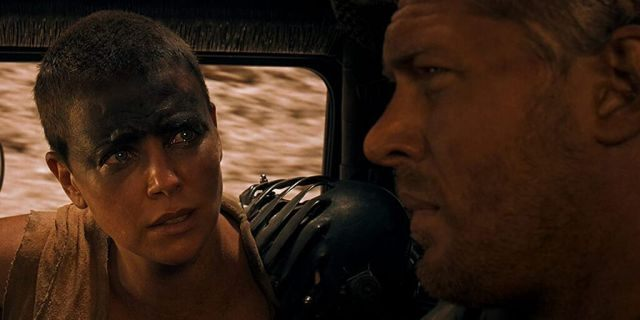 Charlize Theron (left) and Tom Hardy in 'Mad Max: Fury Road.'