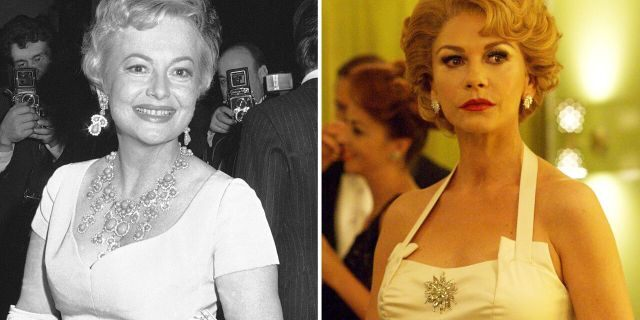 """Olivia de Havilland disagreed with her projection of herself in Ryan Murphy's FX show, """"Feud."""" She filed a suit against FX networks saying her likeness was illegally used by Catherine Zeta-Jones."""