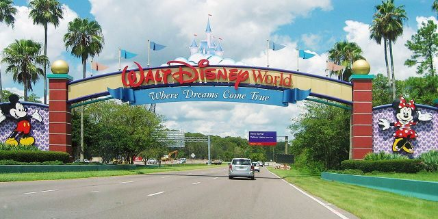 Authorities reportedly discovered two guns and a bag of marijuana in a diaper bag near Epcot.