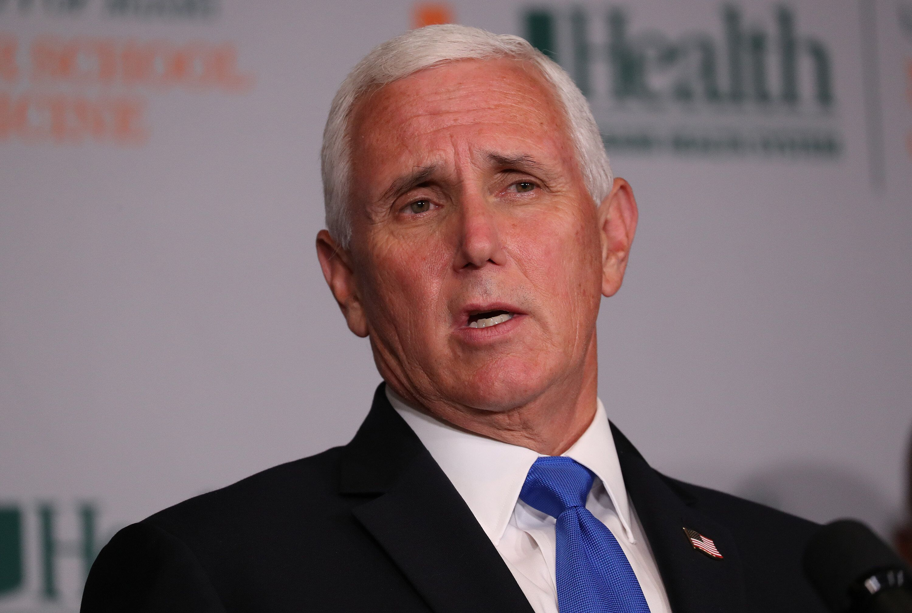 """Vice President Mike Pence met with the group behind a viral video touting the use of hydroxychloroquine to """"cure"""" COVID-19."""
