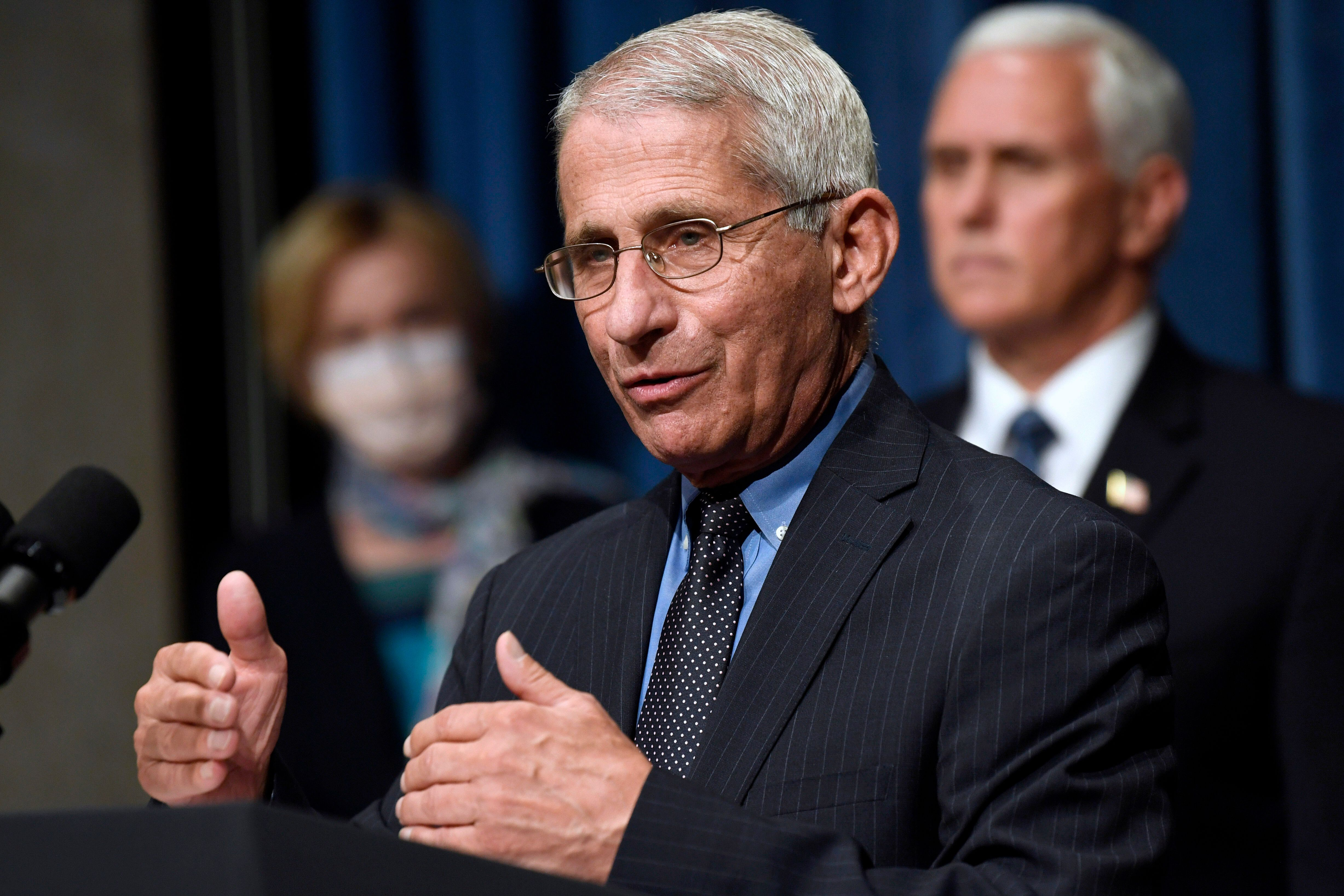 Dr. Anthony Fauci on Wednesday reaffirmed that scientifically valid studies have found hydroxychloroquine is not effective in