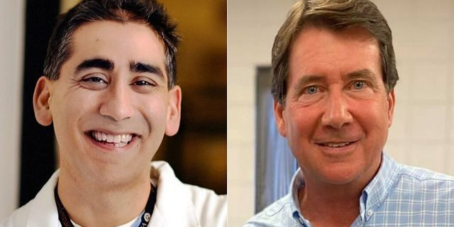 Manny Sethi and Bill Hagerty are two Republicans seeking the nomination for the U.S. Senate in Tennessee (campaign photos)