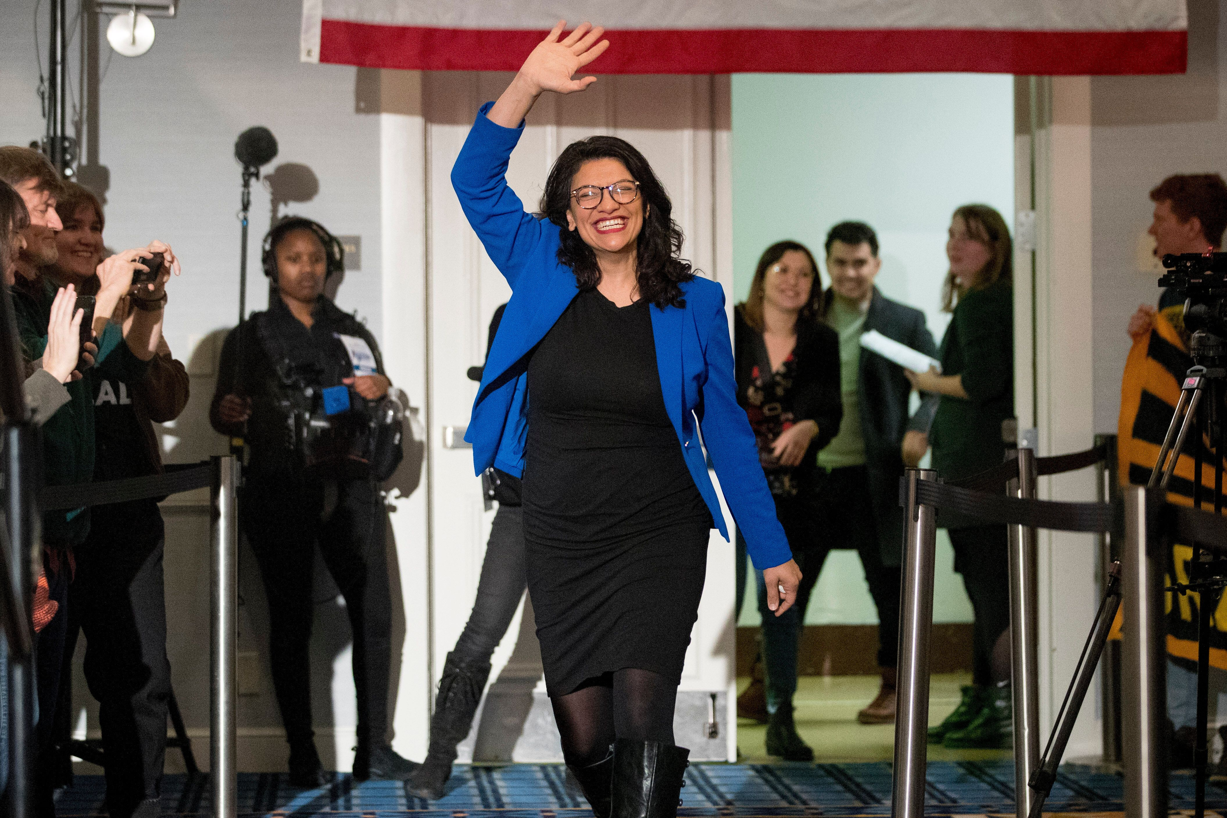 Rep. Rashida Tlaib (D-Mich.) became the first Palestinian American to be elected to Congress in 2018.