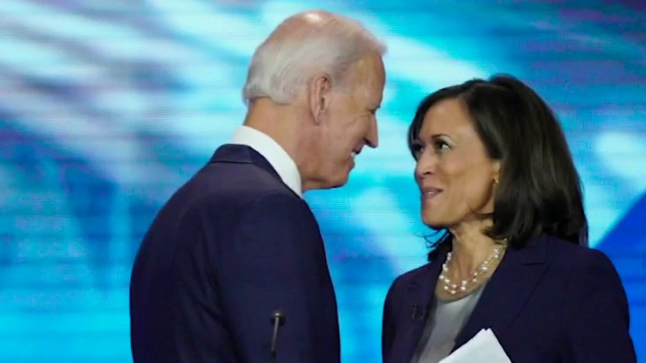 Joe Biden names Kamala Harris as VP pick