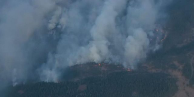The Mosier Creek Fire has grown to about 500 acres.