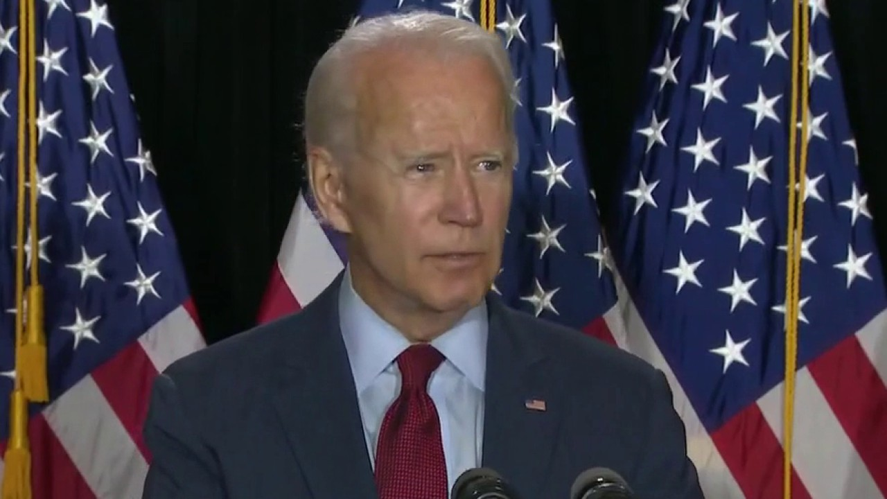 President Trump dismisses Joe Biden's call for national mask mandate to stem COVID pandemic