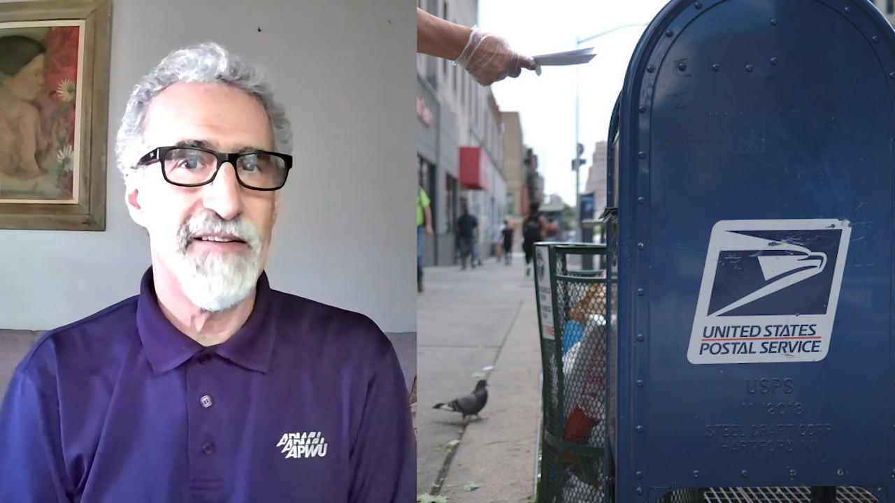 Postal worker union head says vote-by-mail safe, calls partisan attacks against USPS 'shameful'